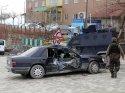 Hakkari'de trafik kazası: 1 polis yaralı
