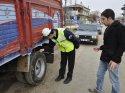 Hamamöz'nde kış lastiği kontrolü
