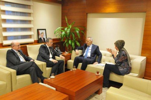 Belçika'nın Ankara Büyükelçisi Trenteseau, Gaziantep'te