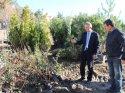 Belediye Başkanı Öztürk, Nihat Yıldırım Parkı'nda incelemede bulundu