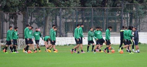 Denizlispor'da Şanlıurfaspor maçı hazırlıkları