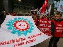 İzmir'de işçi eylemi