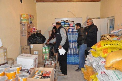 Kızıltepe'de Kobani'ye yardım