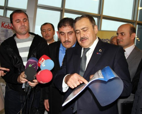 Orman ve Su İşleri Bakanı Eroğlu, Afyonkarahisar'da