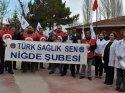 Türk Sağlık-Sen'den ağır iş yükü tepkisi