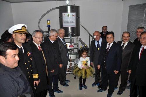Zonguldak'ta bal dolum tesisi açılış töreni