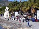 Bodrum ve Fethiye'de güneş yeniden yüzünü gösterdi