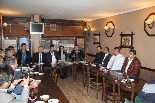 DGP İl Başkanlığı ilçe teşkilatları tanıtıldı
