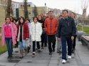 Kırşehir'de yürüyüş gerçekleştirildi