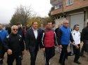 Şahinbey Kaymakamı Aydın, vatandaşlarla sabah yürüyüşü yaptı