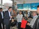 Siirt Belediye Başkanı Bakırhan'dan esnaf ziyareti