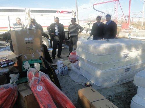 Sungurlu Belediyesine malzeme yardımı