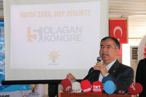 AK Parti Zara İlçe Başkanlığının kongresi