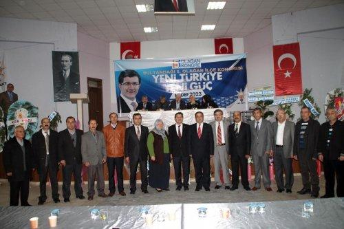 AK Parti'nin Sultandağı ve Çay ilçelerindeki kongreleri tamamlandı
