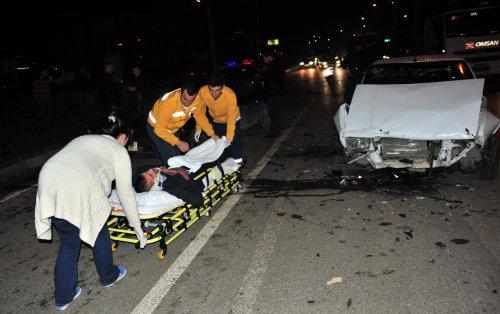 Bursa'da trafik kazası: 4 yaralı
