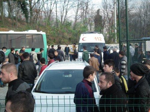 Sakarya'da amatör futbol maçında arbede