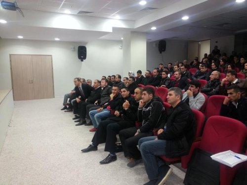 Siirt'te sağlık çalışanlarına eğitim programı
