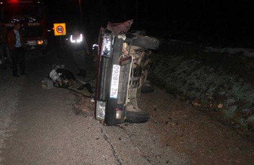 Konya'da tırla otomobil çarpıştı: 6 yaralı