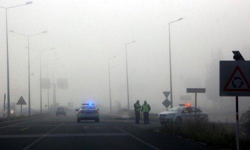 Muğla'da sis etkili oluyor