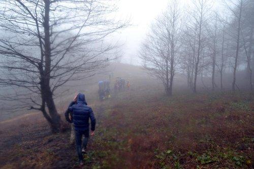 Rize'de öğrencilere yönelik doğa yürüyüşü düzenlendi