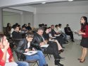 Tarsus'ta AK Parti yöneticilerine diksiyon eğitimi