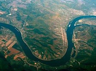 Tuna nehrinin su seviyesi düştü