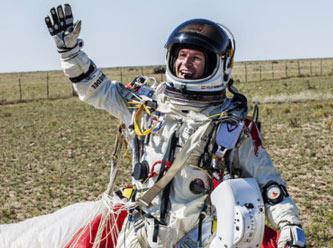Felix'in uzay atlayışı Twitter'ı salladı!