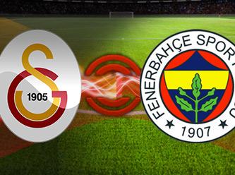 Galatasaray - Fenerbahçe derbi maçı! CANLI