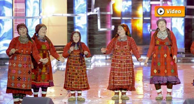 Rusya'yı Eurovision'da nineler temsil edecek