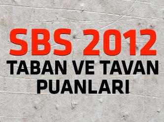 İzmir Anadolu Lisesi Taban ve Tavan Puanları 2012
