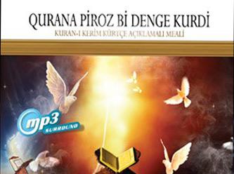 Sesli Kürtçe Kur'an-ı Kerim meali yayınlandı