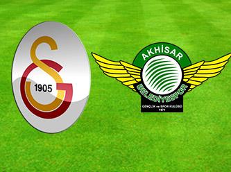 Galatasaray - Akhisar Belediyespor maçı! CANLI