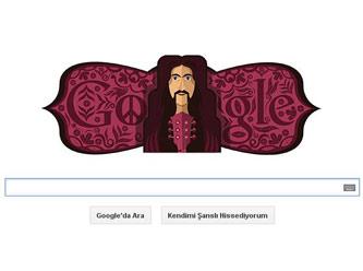 Google Barış Manço'yu unutmadı - Doodle