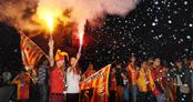 Galatasaraylı futbolculardan şampiyonluk mesajları