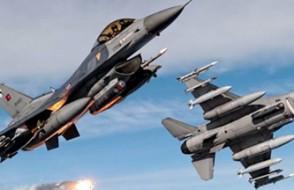 F-16'ların uçuş formasyonu değiştirildi