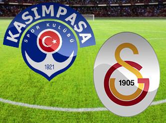 Kasımpaşa Galatasaray maçının gollerini seyredin