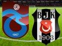 Trabzonspor Beşiktaş maçı (CANLI) İlk Devre