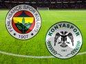 T. Konyaspor Fenerbahçe maçının gollerini seyredin