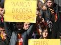 Tokat'ta Mancini'ye Drogba protestosu