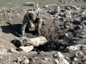 Tarihi kalede 25 insana ait kemik bulundu