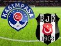 Kasımpaşa Beşiktaş tekrar maçında üç gol var (CANLI) İkinci Devre