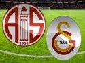 MP Antalyaspor Galatasaray maçı başladı (CANLI) İlk Devre