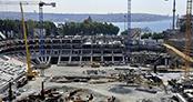 Beşiktaş Vodafone Arena'dan yeni fotoğraflar yayınlandı
