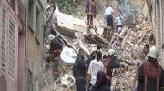 İstanbul'da 4 katlı bina çöktü