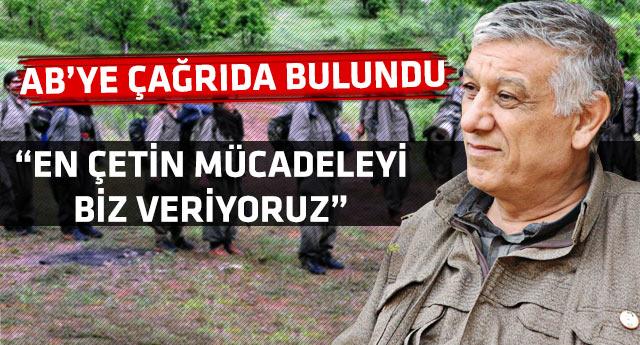 PKK Batı'dan silah istiyor