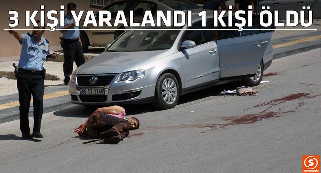 Ankara'da polisle silahlı çatışma
