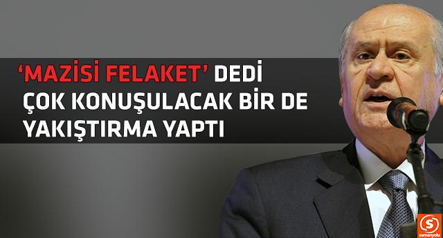 Bahçeli'den Davutoğlu'na çok sert eleştiri