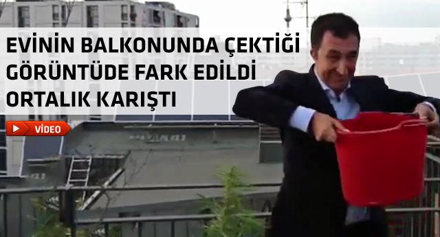 Cem Özdemir buzlu kova videosu paylaştı, fena yakalandı