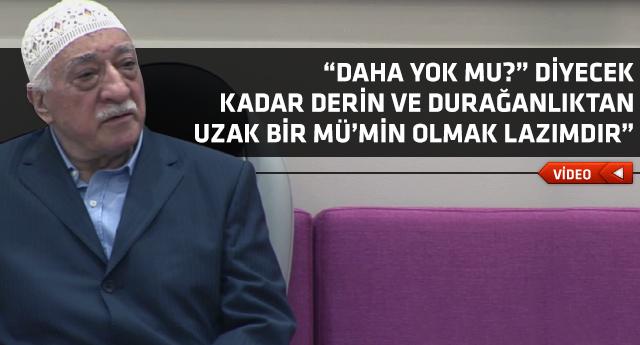 Fethullah Gülen Hocaefendi'den dikkat çekici tespitler