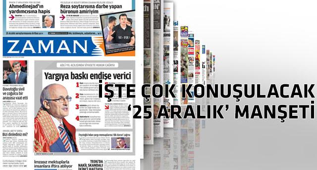 Manşetler bugün 'SIFIRLANDI NETEKİM'